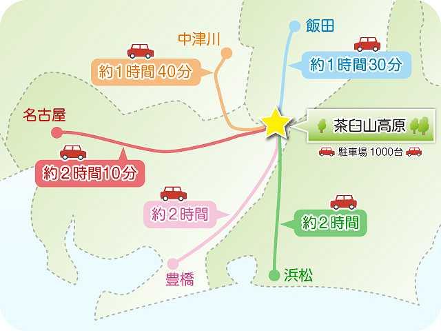 茶臼山_地図