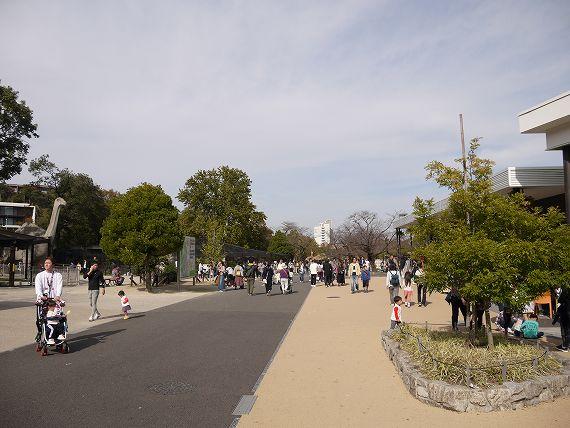 東山動物園の風景