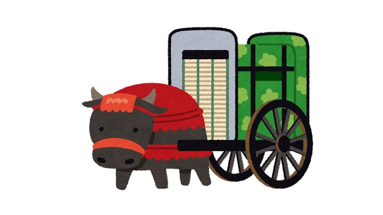 平安貴族の牛車