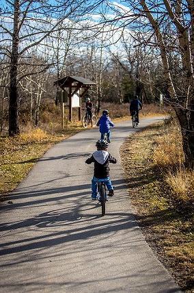 交通公園で自転車練習ができるのか