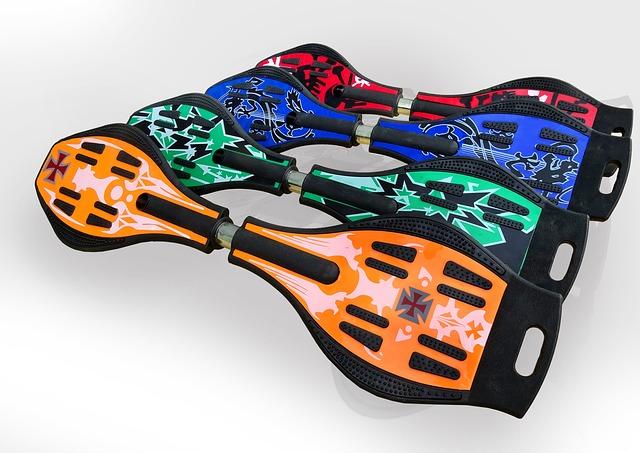 色んな種類のキャスターボード